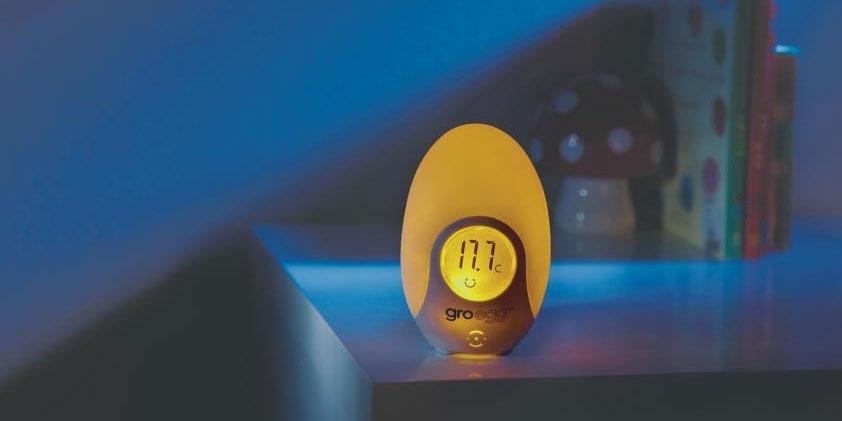Gro Egg termometru de camera bebelusi