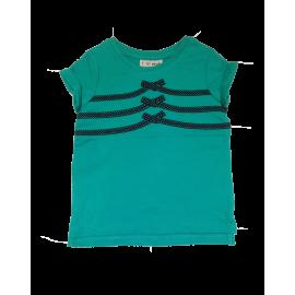Next - Tricou Verde cu Fundite