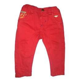 Mamas&Papas - Pantaloni At Sea Red Jeans