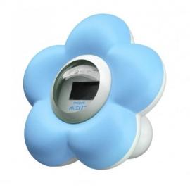Philips AVENT - Termometru digital pentru baie si camera, Bleu