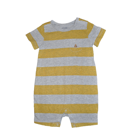 GAP - Salopeta joaca Yellow and Grey