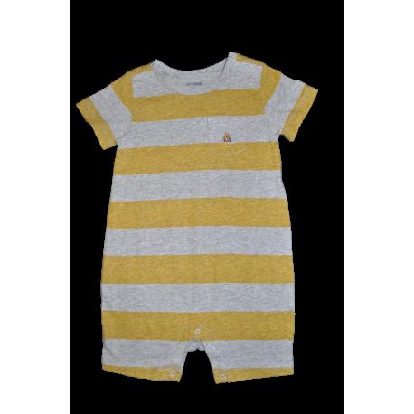 GAP - Salopeta joaca Yellow and Grey