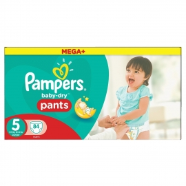 Pampers - Chilotei Pampers 5 Junior 12-18 kg 84 buc