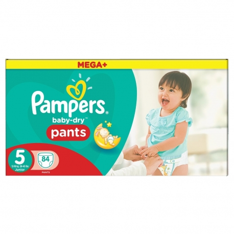 Pampers - Chilotei Pampers 5 Junior 12-18 kg 84 buc noapte