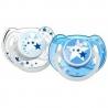 Philips AVENT - Suzete Glow in the Dark, 6-18 luni, Blue, 2 buc