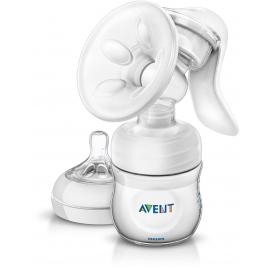 Philips AVENT - Pompa de san manuala cu biberon pentru hranire naturala SCF330/20