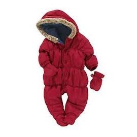 Next - Salopeta iarna bebelusi Red Quilt