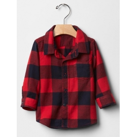 GAP - Camasa baieti Red Flannel