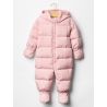 GAP - Salopeta bebelusi iarna Warmest Down Fill roz