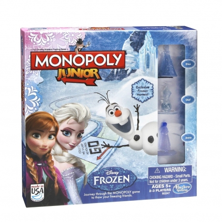 Monopoly - Junior Joc Frozen
