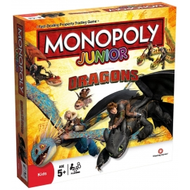 Joc Monopoly Junior Editie Dragons
