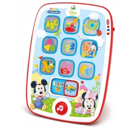 Clementoni - Tableta interactiva Disney Mickey Mouse