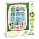 Clementoni - Tableta interactiva Baby Mickey Mouse disney