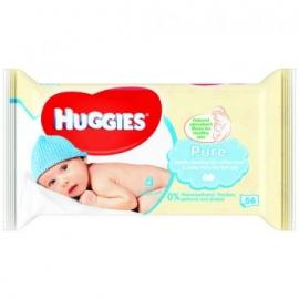 Huggies - Servetele umede bebelusi Pure 56 buc