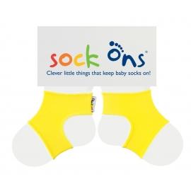 Ons - Sock Ons, Impiedica Scoaterea Sosetelor, Yellow