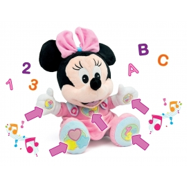 Clementoni - Jucarie Plus Disney Minnie Interactiv