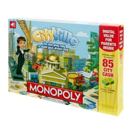 Monopoly - Zynga CityVille Board Game