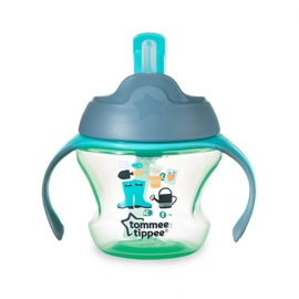 Tommee Tippee - Cana cu Pai Weaning 150ml 6+ luni, Verde
