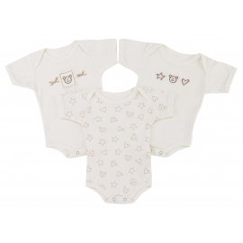 Lollipop Lane - Set cadou 3 Bodysuits Teddy's Cottage
