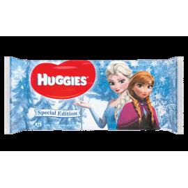 Huggies - Servetele umede Editie Disney Frozen 64 buc