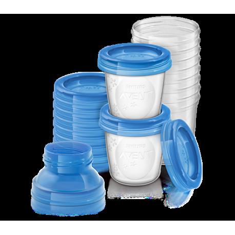 Philips Avent - Recipiente pentru stocarea laptelui SCF618/10
