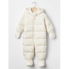 GAP - Combinezon cu puf Warmest Down Fill, Crem