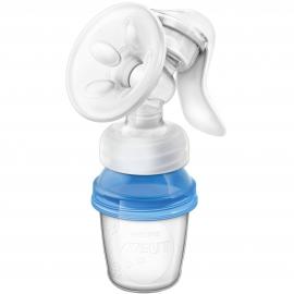 Philips AVENT - Pompa de san manuala cu recipient pentru stocare lapte SCF330/13