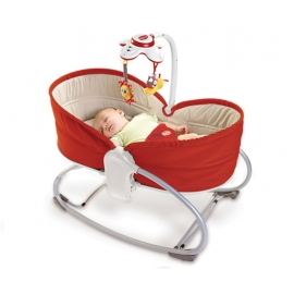 Tiny Love - Sezlong 3 in 1 Rocker Napper, Red