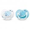 Philips AVENT - SCF176/18 Suzete noapte bebelusi 0-6 luni (2 buc)