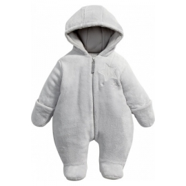 Mamas&Papas - Salopeta Fur Pramsuit, Welcome to the World Gri