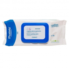 Mustela - Servetele dermo-calmante cu Aloe Vera, 70 buc