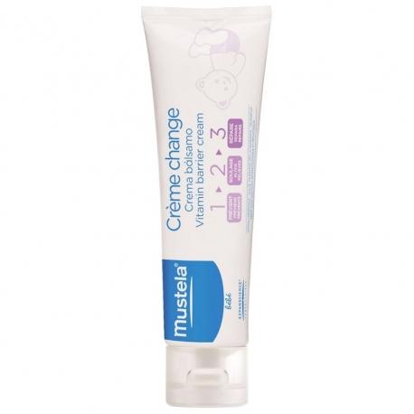 Mustela - Crema pentru zona scutecului Vitamin Barrier 1-2-3, 50ml