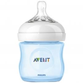 Philips AVENT - SCF692/17 Biberon hranire naturala 125ml, Bleu, 0+ luni