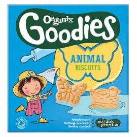 Organix - Biscuiti Farm Animal Biscuits, 12 luni +, 100g