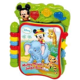 Clementoni - Carte interactiva Disney Mickey Mouse Jungle Book