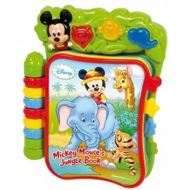 Clementoni - Carte interactiva Disney Mickey Mouse Jungle Book