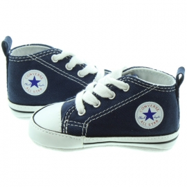 Converse - Tenisi All Star Crib Trainers, First Star, Bleumarin
