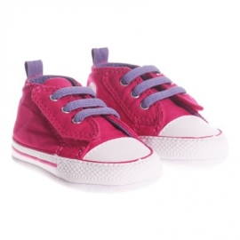Converse - Tenisi All Star Crib Trainers, First Star Easy Slip, Fucsia