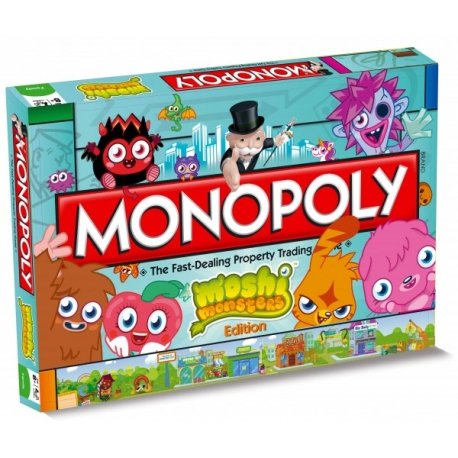 boardgame Monopoly - Moshi Monsters