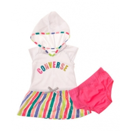 Converse - Rochita fetite Set Color Logo Hooded