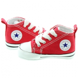 Converse - All Star Crib Trainers, First Sta, Rosu