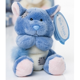 Me to You - Blue Nose Friends Chinchilla Snugs, Small, 4""