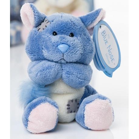"Me to You - Blue Nose Friends Chinchilla Snugs Small, 4"""