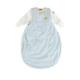 Steiff - Sac de dormit bebelusi 2-in-1, 1 & 2.5 TOG, Blue