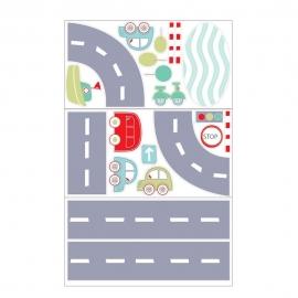 Gro - Decoratiuni Wall Stickers, All Aboard, 3 foi