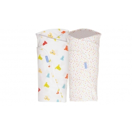 Gro - Paturica infasat GroSwaddle Spotty Bear, Twin Pack, 2 buc