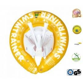Freds Swim Academy - Colac copii SWIMTRAINER Classic Galben, 4-8 ani