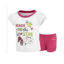 Converse - All Star Infant Set Tricou si Pantaloni, Reach For the Star