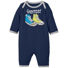 Converse - All Star Infant Body All-in-one, Navy Grafity