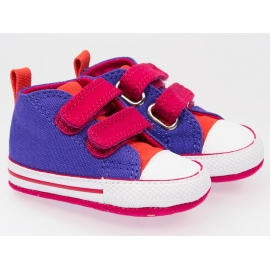 Converse - Tenisi All Star Crib Trainers, First Star Periwinkle